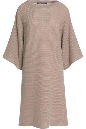 AGNONA Cable-knit cashmere dress