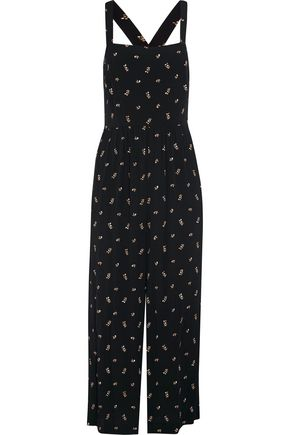 MADEWELL Printed voile jumpsuit
