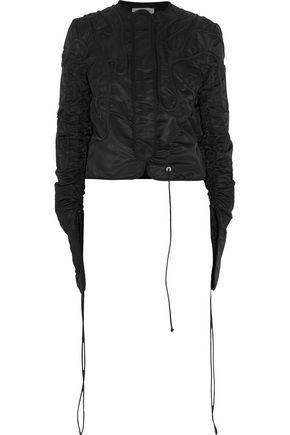 J.W.ANDERSON Corded drawstring satin bomber jacket