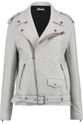 JUST CAVALLI Oversized biker jacket