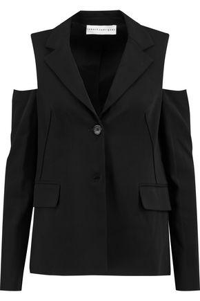 ROBERT RODRIGUEZ Cold-shoulder crepe blazer