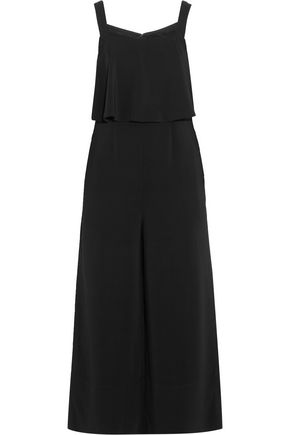 ROBERT RODRIGUEZ Tiered crepe jumpsuit