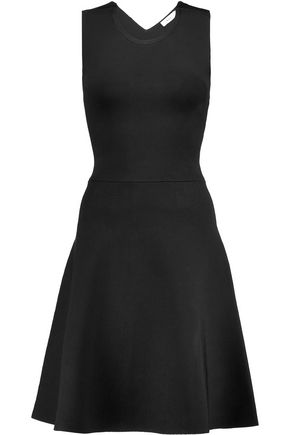 A.L.C. Este lace-up stretch-jersey dress