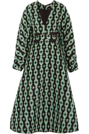 EMILIA WICKSTEAD Lottie cutout jacquard midi dress