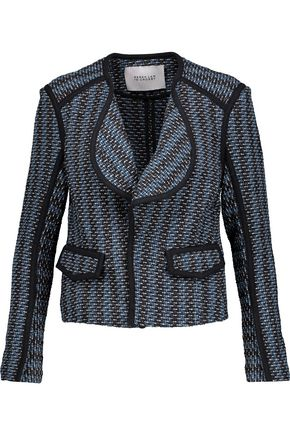 DEREK LAM 10 CROSBY Cotton-blend bouclé-tweed jacket