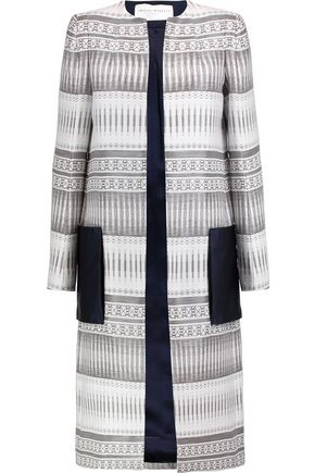 AMANDA WAKELEY Tapis metallic jacquard jacket