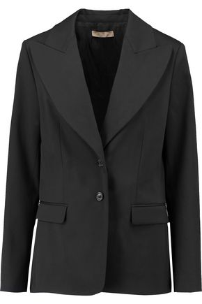 MICHAEL KORS COLLECTION Belted wool jacket
