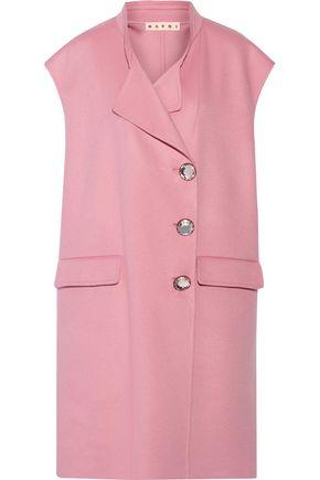 MARNI Wool, cashmere and angora-blend gilet