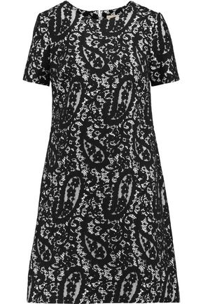 MICHAEL MICHAEL KORS Cotton lace mini dress