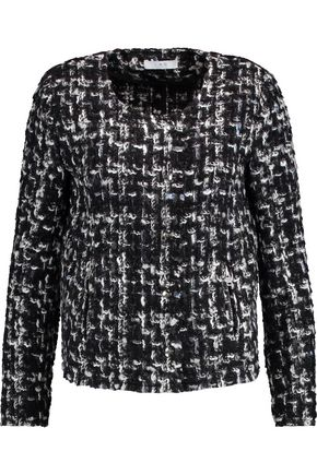 IRO Cropped bouclé tweed jacket
