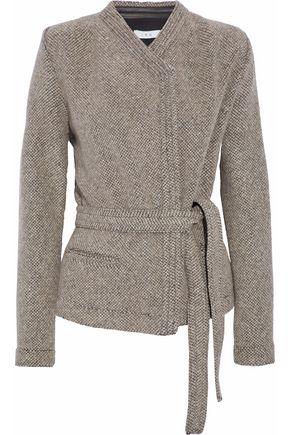 IRO Virgin wool-blend bouclé jacket