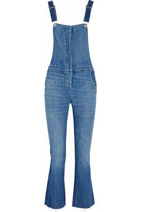 3x1 Faded denim overalls