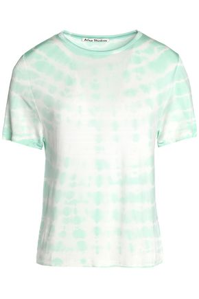 ACNE STUDIOS Tie-dyed stretch-jersey T-shirt