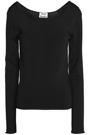 ACNE STUDIOS Stretch-jersey top