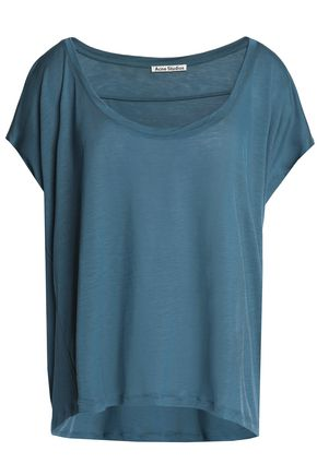 ACNE STUDIOS Slub stretch-jersey T-shirt