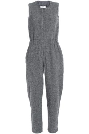 ACNE STUDIOS Mélange brushed-wool jumpsuit