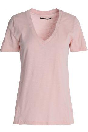 J Brand Woman Slub Cotton-jersey T-shirt Baby Pink Size S J Brand Shopping Online For Sale Wide Range Of Cheap Price Pre Order rkDBTA1