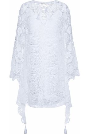 MIGUELINA Broderie Anglaise cotton mini dress