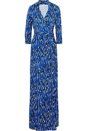DIANE VON FURSTENBERG Abigail printed silk-jersey maxi wrap dress
