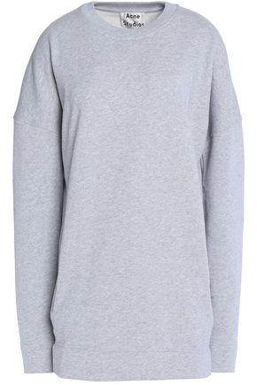 ACNE STUDIOS Mélange cotton sweatshirt
