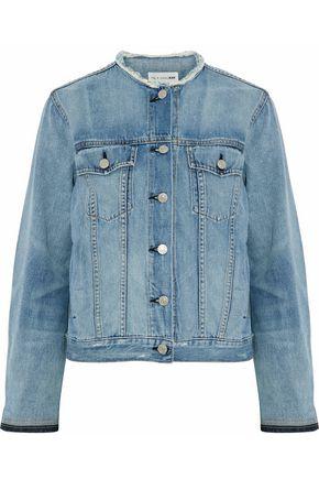 RAG & BONE/JEAN Frayed denim jacket