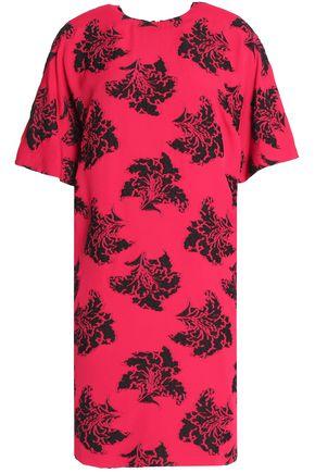 MSGM Crepe-jacquard mini dress