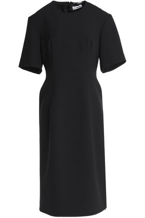 JIL SANDER Pleated cady dress