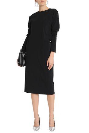 JIL SANDER Wool-blend dress