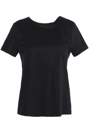 HELMUT LANG Open-back cotton-jersey T-shirt