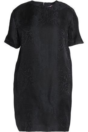 MSGM Jacquard silk-gauze mini dress