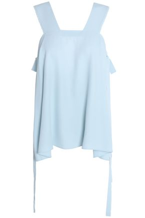 HELMUT LANG Frayed twill top