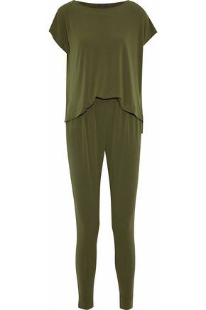 BY MALENE BIRGER Draped crepe-jersey jumpsuit