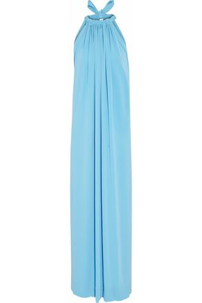 BY MALENE BIRGER Gathered crepe gown