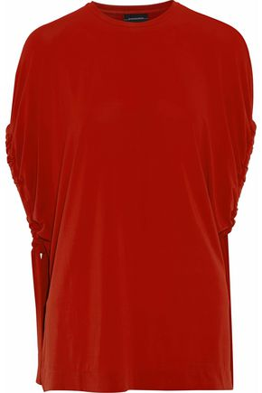 BY MALENE BIRGER Draped jersey top