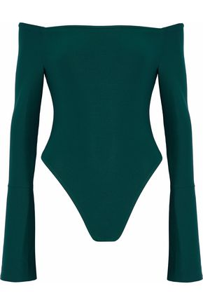 ALIX Off-the-shoulder stretch-jersey bodysuit
