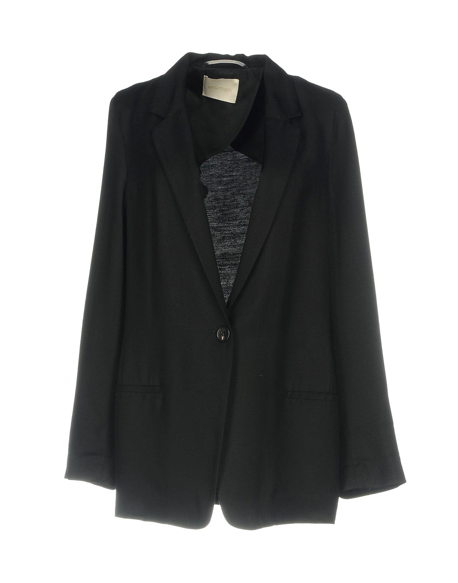 レディース MOMON テーラードジャケット ブラック