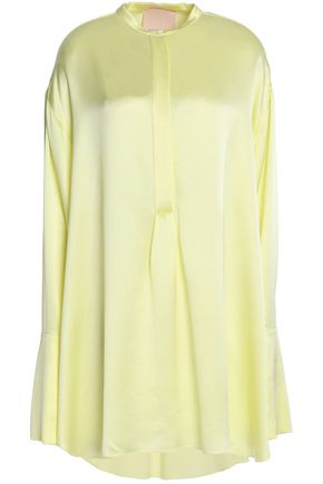 ROKSANDA Silk-satin blouse