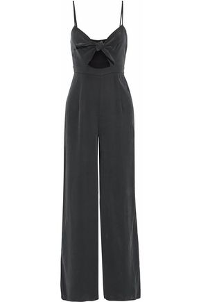 MARA HOFFMAN Cutout brushed modal jumpsuit