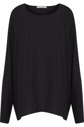ACNE STUDIOS Crepe de chine top