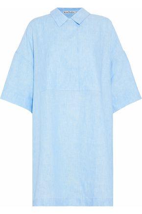 ACNE STUDIOS Oversized linen shirt