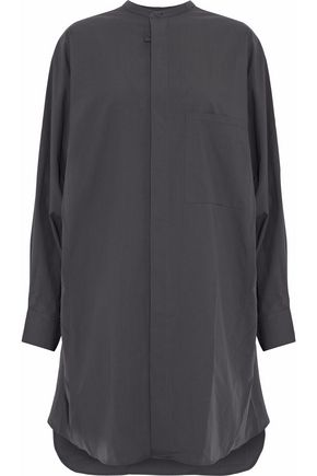 ACNE STUDIOS Oversized cotton-poplin shirt dress