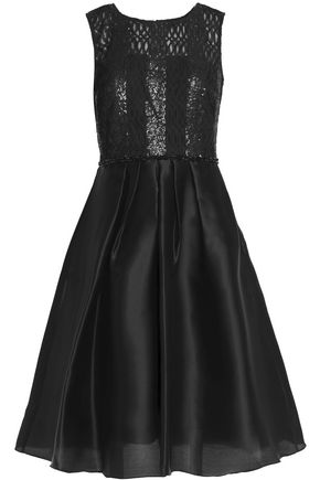 MIKAEL AGHAL Embellished organza dress