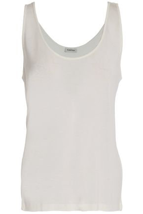 TOTÊME Modal and cashmere -blend gauze top