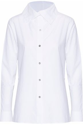 ACNE STUDIOS Cotton-poplin shirt