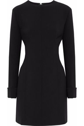 ACNE STUDIOS Black crepe mini dress