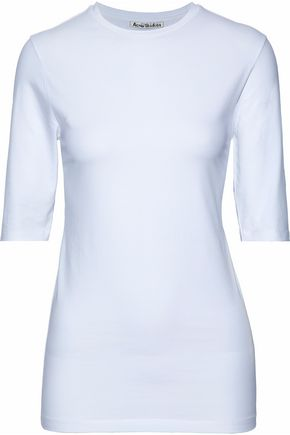 ACNE STUDIOS Stretch cotton-jersey top
