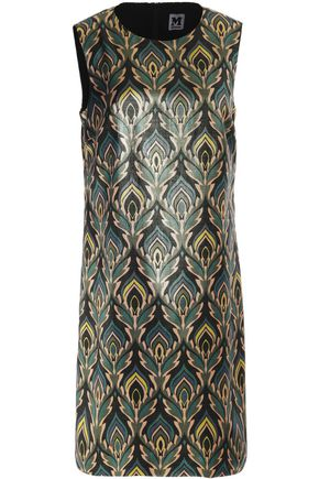 M MISSONI Glossed printed mini dress