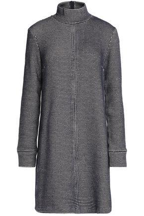 MAISON KITSUNÉ Cotton turtleneck mini dress