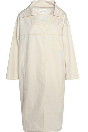 MAISON MARGIELA Cotton and linen-blend twill dress