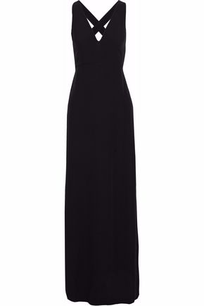 IRIS & INK Quinn crepe maxi dress